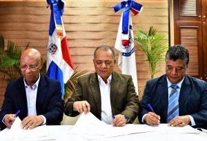CORAASAN, APEDI y FAYN firman convenio educativo para el agua potable, saneamiento y cambio climático