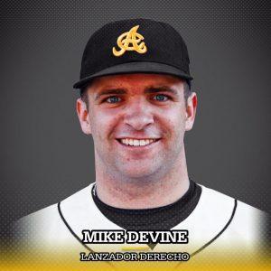 Águilas anuncian la contratación del relevista Mike Devine
