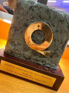 Hospital público gana Oro en Premio Iberoamericano de la Calidad