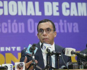 Andrés Navarro asume la dirección de campaña de Margarita Cedeño