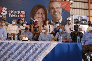 En recorrido por Santiago Hipólito Mejía implementa estrategias para un holgado triunfo del PRM en primera vuelta
