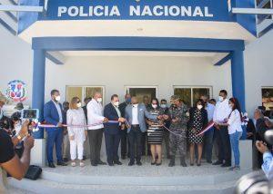 Comisión Presidencial de Desarrollo Provincial entrega destacamento en Hato Mayor
