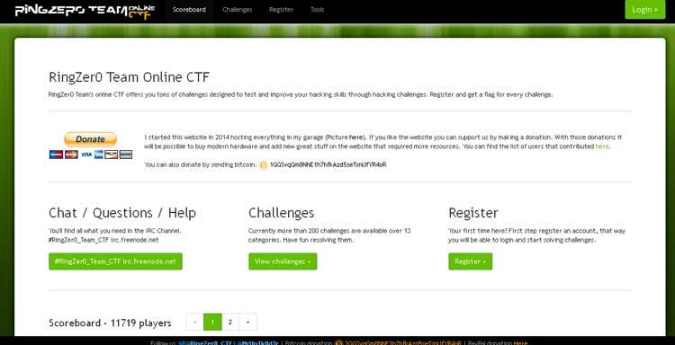 RingZer0 Team Online CTF
