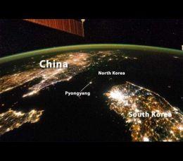 A história, cultura ou recursos de cada país são visíveis a partir do Espaço. Especialmente ao comparar dois territórios.