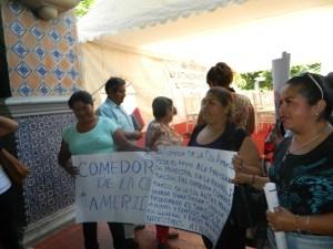 Voceros Piden Apoyo Comedor Colonia América