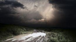 Camino Afectado por Lluvias