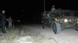 Le roban trailer en las cumbres; aparece en una bodega de autos robados en Azumbilla