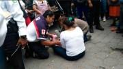 Menor fue arrollado al cruzar sin precaución la calle