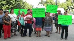 Se inconforman comerciantes del mercado La Purisima, acusan venta de espacios