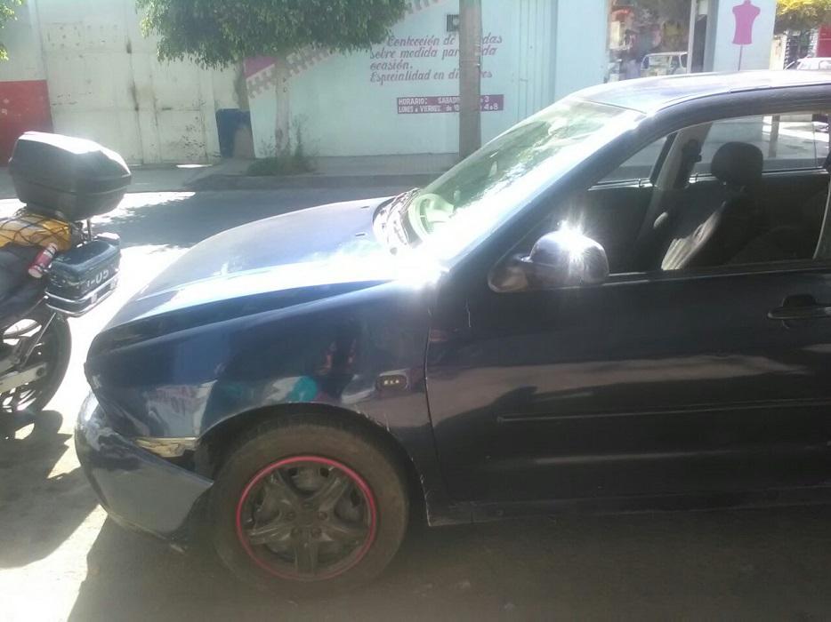 En estado de ebriedad causa accidente en la Reforma y 7 Poniente