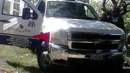 Se robaron 28 cilindros de gas, dejaron al conductor amarrado