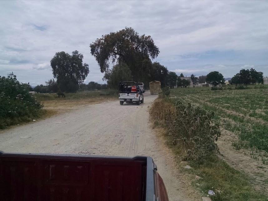 En Acatzingo levantan a un hombre y lesionan a otro