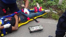 Atropello a ciclista y huyo, zinacatepec.