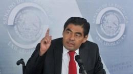 Moreno Valle se niega a liberar recursos para obras gestionadas por el senador Miguel Barbosa