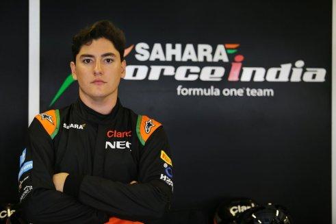 Alfonso Celis Jr., pretemporada F1 Barcelona 2016