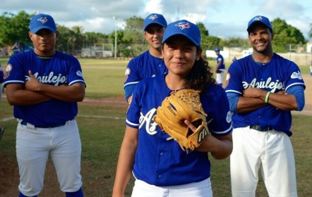 Primera mujer en el béisbol profesional de México