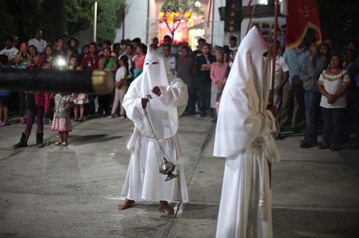 outlet store c6ab2 7e532 La procesión de los Penitentes tradición presente en el municipio de  Coxcatlán | Tehuacan