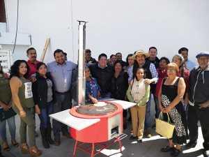 Conocen integrantes de AFODEPO, beneficios de las estufas ecológicas