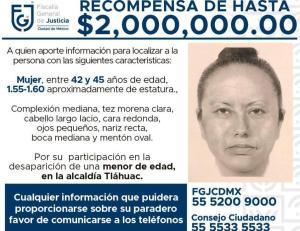 Difunden retrato hablado de quien se llevó a Fátima