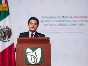 Con todo y paro de mujeres, el trabajo del IMSS no puede detenerse, dice titular del Instituto