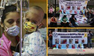 Ante falta de respuestas padres de niños con cáncer hacen huelga de hambre