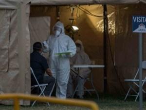 Se saturan hospitales en Chihuahua. Gente muere en la calle
