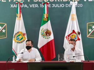 Reportan Oaxaca y Veracruz, resultados en materia de seguridad