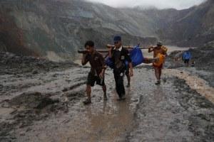 Alud de tierra mata al menos a 113 personas en Birmania