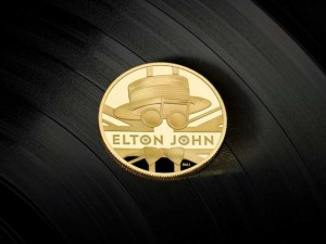 Honran a Elton John con moneda conmemorativa