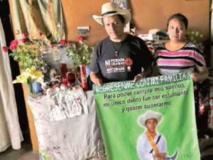 Identifican restos de normalista del caso Ayotzinapa