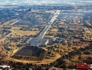 Teotihuacán pudo haberse trazado a partir de la Pirámide de la Luna