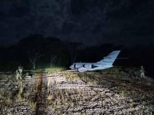 Aseguran avioneta con más de una tonelada de coca en Chiapas