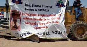 Desalojan a agricultores que mantenían bloqueo en Palacio de Gobierno