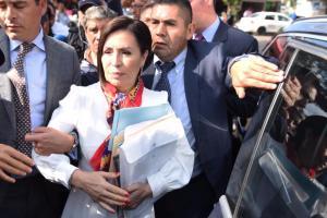 Podría Rosario Robles seguir proceso en su contra desde su casa