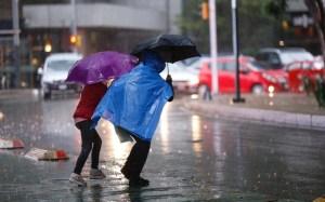 ¡Precaución! seguirán las lluvias en gran parte del país