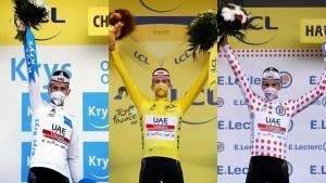 Esloveno Tadej Pogacar, ganador de Tour de Francia