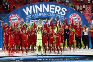 Bayern gana súper copa europea