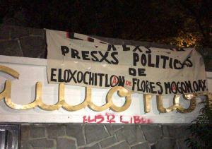 Encapuchados vandalizan Ciudad Universitaria de UNAM
