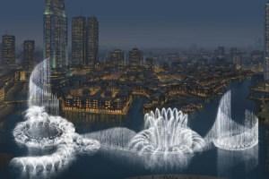 Dubái gana Récord Guinness de la fuente más grande del mundo