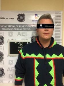 Detienen a ex líder juvenil del PRI nacional por desvío de recursos en el gobierno de César Duarte