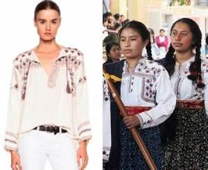 Diseñadora francesa se pasa por el «Arco del Triunfo», derechos culturales de los pueblos originarios de México