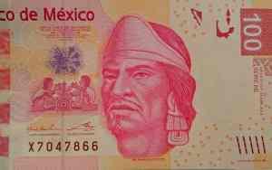 Error de cultura en billete de 100 pesos