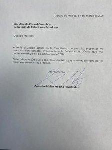 Renuncia jefe de la oficina de Ebrard, «ante situación de la Cancillería»