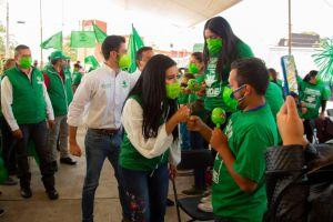 Gobernar cerca de la gente, es la mejor y única forma de hacerlo: Itzel Correa