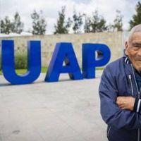 Nunca es tarde... Hombre de 84 años, termina carrera de ingeniero