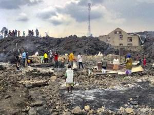 Siguen los sismos en El Congo tras erupción de un volcán. Al momento, 20 muertos
