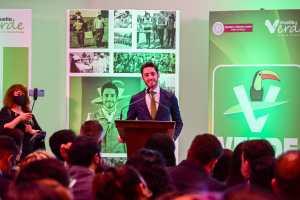 Trabajo mata grilla, afirma líder del Partido Verde en el Estado de México