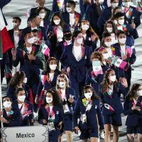 Elegancia y Alegría, así desfiló la delegación de México en Tokyo