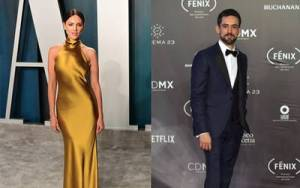 Eiza González y Luis Gerardo Méndez, en la Academia de Cine de Hollywood