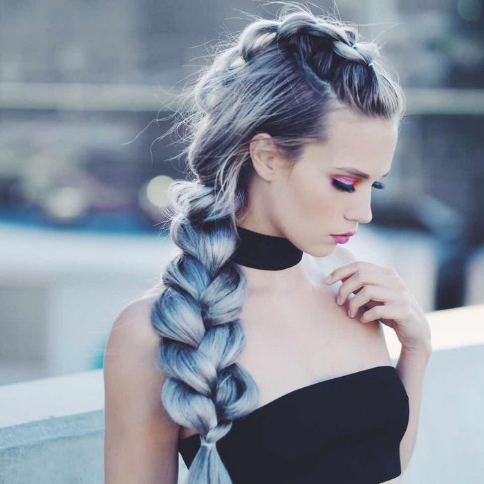 20 Peinados Con Trenzas Super Chic Para Chicas De Cabello